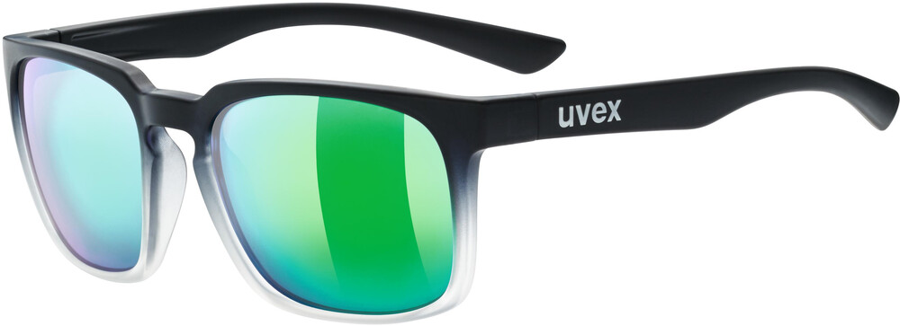 UVEX LGL 35 Colorvision Lifestyle Glasses black matt clear/daily green 2018 Sonnenbrillen K3XWKDDa9